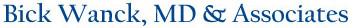 Bick Wanck MD & Associates Logo